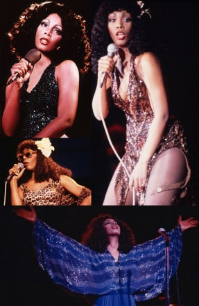 donna summer fashion
